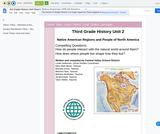 3rd Grade History Unit Design: Native Americans of North America