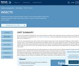 2nd Grade English Language Arts - Unit 2: Insects