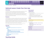 CS Principles 2019-2020 5.17.4: Create Your Own App