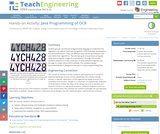 Java Programming of OCR