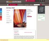 Art Since 1940, Fall 2010