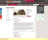 Ethnic Politics I, Fall 2003