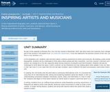 1st Grade English Language Arts - Unit 3: Inspiring Artists and Musicians