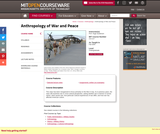 Anthropology of War and Peace, Fall 2004