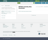 MITECS Activity Idea Generator