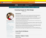 Scanning Images for Web Design