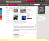 The Brain and Cognitive Sciences II, Spring 2006