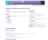 CS Fundamentals 4.8: Drawing Shapes with Loops