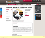 Comparative Land Use and Transportation Planning, Spring 2006