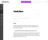 A-CED Cash Box