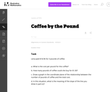 Coffee by the Pound
