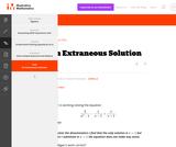 A-REI An Extraneous Solution