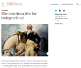 The American War for Independence