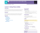 CS Fundamentals 1.1: Going Places Safely