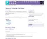 CS Fundamentals 6.4: Drawing with Loops