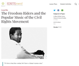 The Freedom Riders and the Popular Music of the Civil Rights Movement