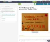 Garden Science: Garden Orientation - The Card Hike