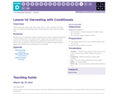 CS Fundamentals 4.14: Harvesting with Conditionals