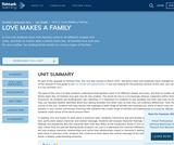 1st Grade English Language Arts - Unit 3: Love Makes a Family