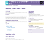 CS Discoveries 2019-2020: Physical Computing Lesson 6.9: Project - Make a Game
