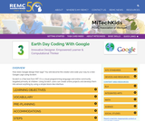 Earth Day Coding With Google