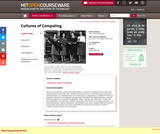 Cultures of Computing, Fall 2011