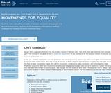 1st Grade English Language Arts - Unit 4: Movements for Equality