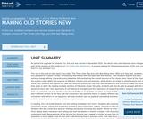 1st Grade English Language Arts - Unit 4: Making Old Stories New