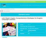 Let's Read It Again: Comprehension Strategies for English-Language Learners