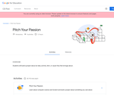 CS First - Pitch Your Passion