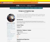 Design an Irrigation App