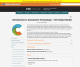 Automotive Technology 1 and 2 Model
