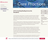CP 13: Teaching Reading Across the Disciplines