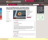 Law, Social Movements, and Public Policy: Comparative and International Experience, Spring 2012