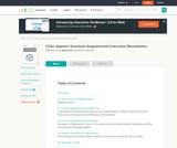 CCIU: Algebra I Keystone Supplemental Instruction-Remediation