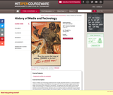 History of Media and Technology, Spring 2005